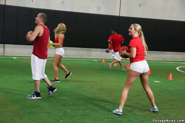 Tucker Starr, Megan Mathews, Carter Cruise   College Rules (Strip Dodgeball) pictures